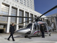 Imagens: Os Helicópteros de Putin….