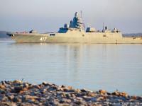 Vídeo: No mar com a Fragata  Russa Almirante Gorshkov