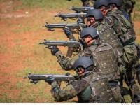 FAB PÉ DE POEIRA: Vídeo mostra adestramento de militares dos Grupos de Operações Especiais das Forças Armadas