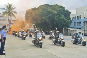 FAB PÉ DE POEIRA: BINFAE-RJ encerra Curso de Motociclista Militar Batedor  como parte da preparação para os Jogos Olímpicos e Paralímpicos Rio 2016