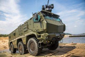 Russos apresentam os veículos Typhoon VDV e MRAP Typhoon com torre automática