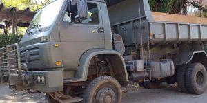Militares são presos com drogas dentro de caminhão do Exército