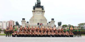 FAB PÉ DE POEIRA: Batalhão Bandeirante (Binfa 14) encerra primeira fase do  Curso de Formação de Soldados
