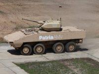 Patria demonstra as capacidades de fogo real do AMV na Bulgária