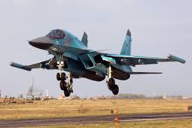 Su-34 equipado com pods do sistema Khibiny
