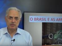 """William Waack comenta a sua participação no evento """"O Brasil e a geopolítica das armas"""": evento do Ministério da Defesa discutiu como e com quem o Brasil poderia ter acesso a modernas tecnologias bélicas"""