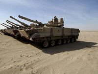O primeiro carregamento de BMP-3M chegou ao Iraque