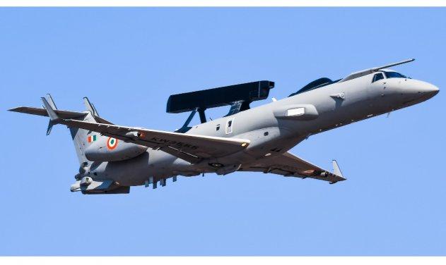 Para fazer frente a ameaça chinesa, Força Aérea Indiana avalia a aquisição de mais aeronaves AWACS baseadas na plataforma ERJ-145