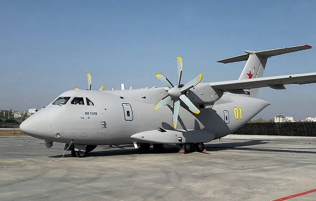 Ministério da Defesa da Rússia receberá nova aeronave Ilyushin Il-112V de série a partir de 2023