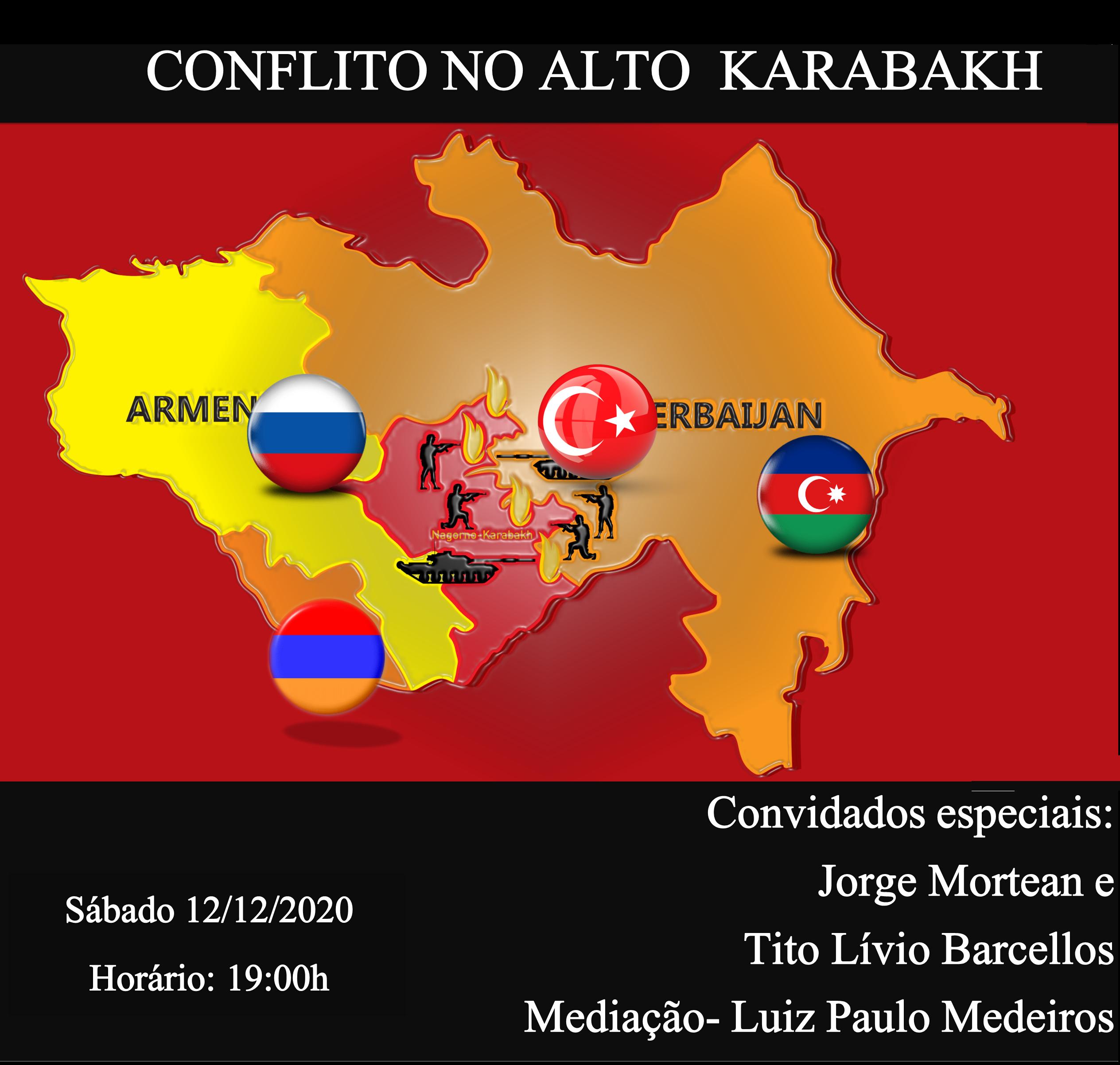Neste sábado 12/12 no Plano Brasil Hangout especial – Conflito no Alto Karabakh