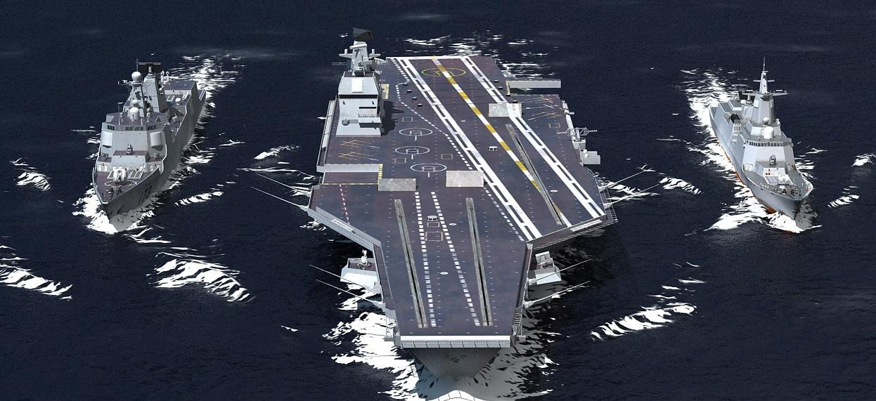Industria naval chinesa se prepara para uma nova era