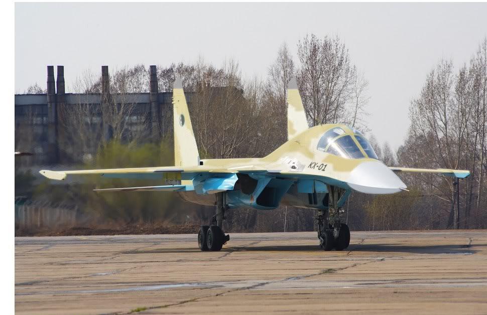 Su-34 para a Argélia?